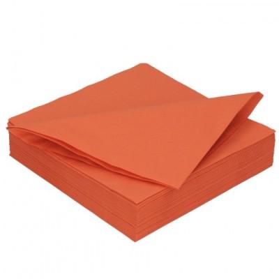 Ubrousky 2 vrstvé oranžové