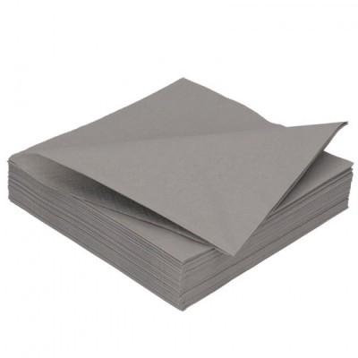 Ubrousky 2 vrstvé šedé