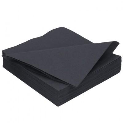 Ubrousky 2 vrstvé černé