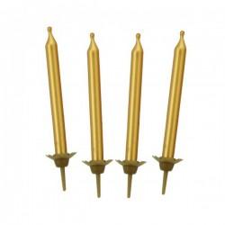 Narozeninové svíčky zlaté
