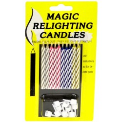 Narozeninové svíčky magické