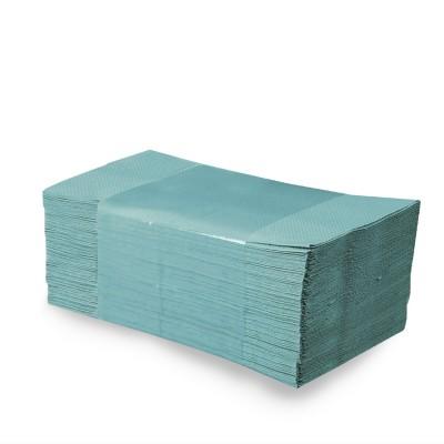 Ručníky skládané ZZ zelené