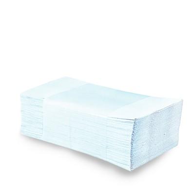 Ručníky skládané ZZ bílé