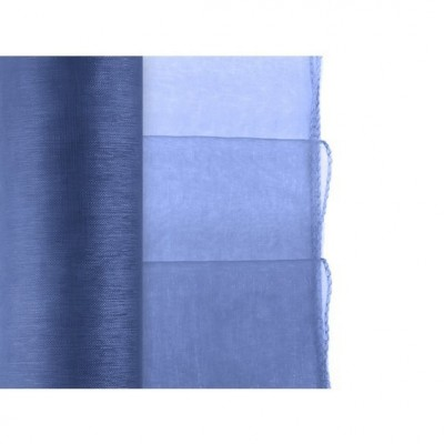 Organza střední modrá