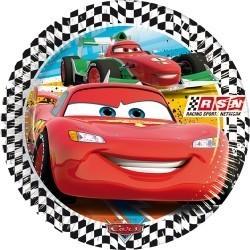 Papírový talíř cars