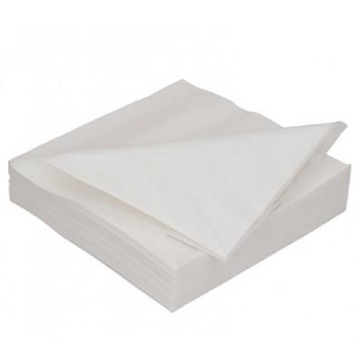 Ubrousky 2 vrstvé bílé 250 ks