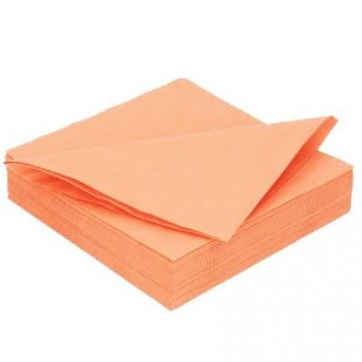 Ubrousky 2 vrstvé světle oranžové