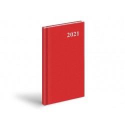 Diář 2021 T806 PVC Red