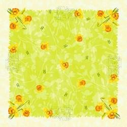 Ubrus DUNI 84x84cm Spring, 1ks