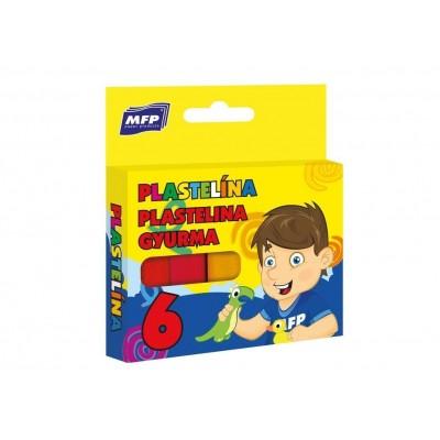 Plastelína Mfp, 6 barev